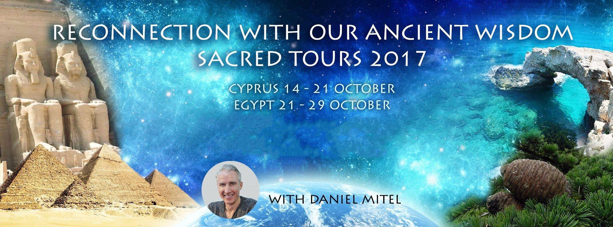 Sacred Journey to Cyprus and Egypt, Oct 2017